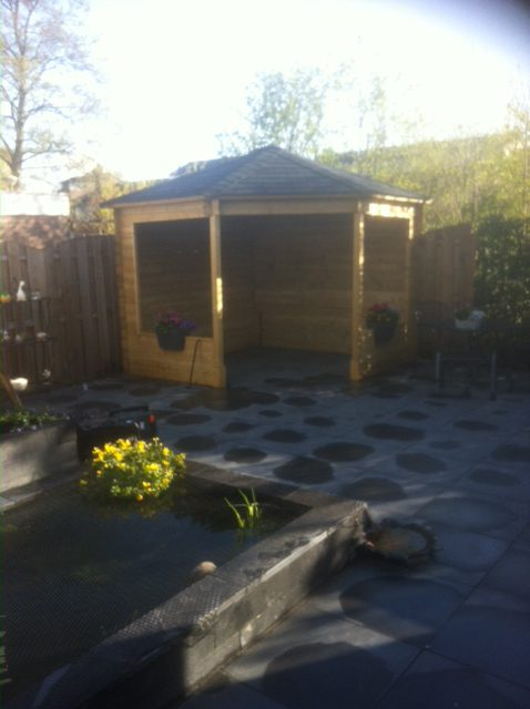 Groot tuinproject